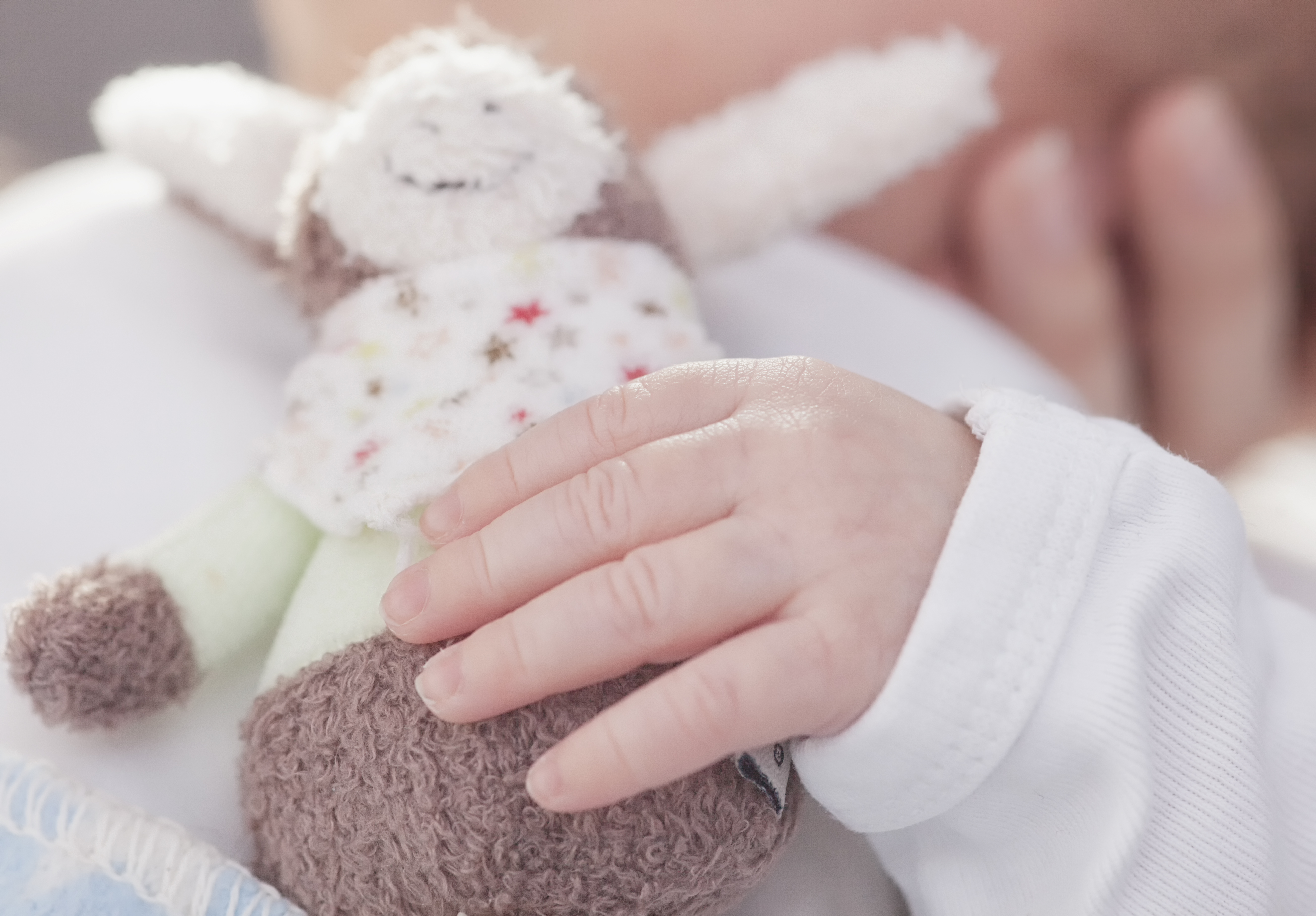 Small lovey for child